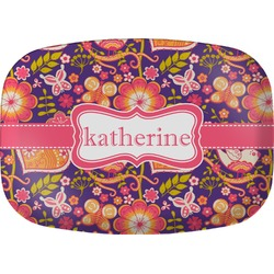 Birds & Hearts Melamine Platter (Personalized)