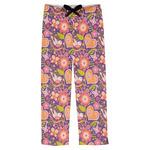 Birds & Hearts Mens Pajama Pants (Personalized)