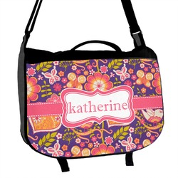 Birds & Hearts Messenger Bag (Personalized)