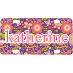 Birds & Hearts Mini / Bicycle License Plate (Personalized)