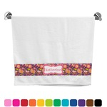 Birds & Hearts Bath Towel (Personalized)