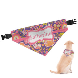 Birds & Hearts Dog Bandana (Personalized)