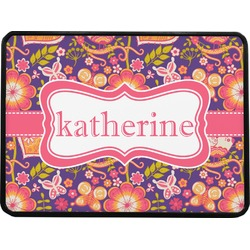 """Birds & Hearts Rectangular Trailer Hitch Cover - 1.25"""" (Personalized)"""