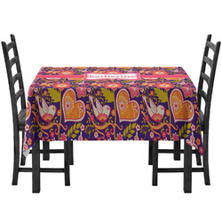 Birds & Hearts Tablecloth (Personalized)
