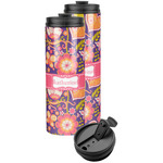 Birds & Hearts Stainless Steel Skinny Tumbler (Personalized)
