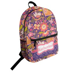 Birds & Hearts Student Backpack (Personalized)