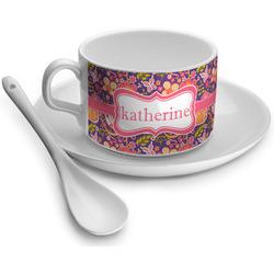 Birds & Hearts Tea Cups (Personalized)