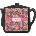 Birds & Hearts Teapot Trivet (Personalized)