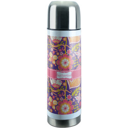 Birds & Hearts Stainless Steel Thermos (Personalized)