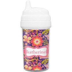 Birds & Hearts Toddler Sippy Cup (Personalized)