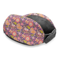 Birds & Hearts Travel Neck Pillow (Personalized)