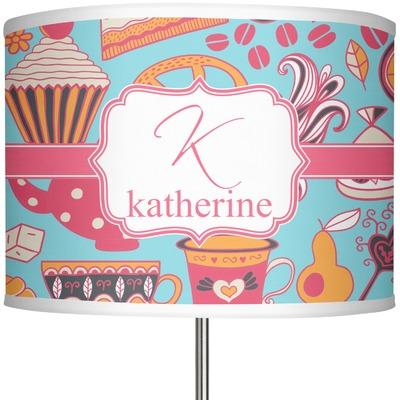 "Dessert & Coffee 13"" Drum Lamp Shade (Personalized)"