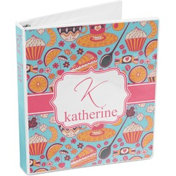 Dessert & Coffee 3-Ring Binder (Personalized)