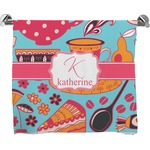 Dessert & Coffee Full Print Bath Towel (Personalized)