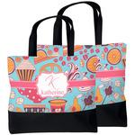Dessert & Coffee Beach Tote Bag (Personalized)