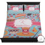 Dessert & Coffee Duvet Cover Set (Personalized)