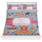 Dessert & Coffee Comforter Set (Personalized)
