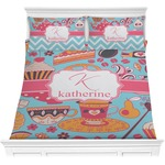 Dessert & Coffee Comforter Set (Personalized)