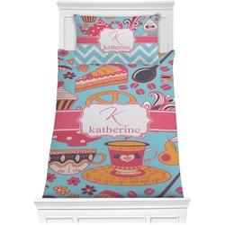 Dessert & Coffee Comforter Set - Twin XL (Personalized)