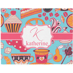 Dessert & Coffee Placemat (Fabric) (Personalized)