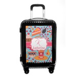 Dessert & Coffee Carry On Hard Shell Suitcase (Personalized)