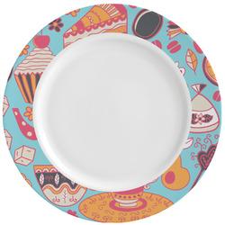 Dessert & Coffee Ceramic Dinner Plates (Set of 4) (Personalized)