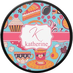 Dessert & Coffee Round Trailer Hitch Cover (Personalized)