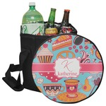 Dessert & Coffee Collapsible Cooler & Seat (Personalized)