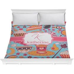 Dessert & Coffee Comforter - King (Personalized)