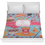 Dessert & Coffee Comforter (Personalized)