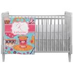 Dessert & Coffee Crib Comforter / Quilt (Personalized)