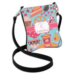 Dessert & Coffee Cross Body Bag - 2 Sizes (Personalized)