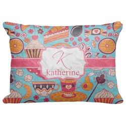 "Dessert & Coffee Decorative Baby Pillowcase - 16""x12"" (Personalized)"