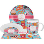 Dessert & Coffee Dinner Set - 4 Pc (Personalized)