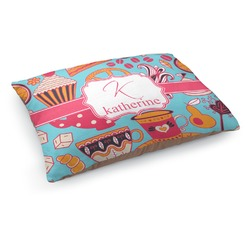 Dessert & Coffee Dog Pillow Bed (Personalized)
