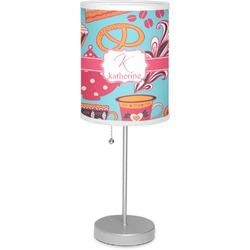 """Dessert & Coffee 7"""" Drum Lamp with Shade (Personalized)"""