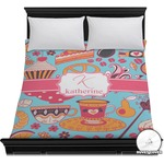 Dessert & Coffee Duvet Cover (Personalized)