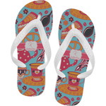 Dessert & Coffee Flip Flops (Personalized)