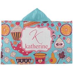 Dessert & Coffee Kids Hooded Towel (Personalized)