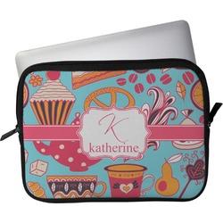 "Dessert & Coffee Laptop Sleeve / Case - 12"" (Personalized)"