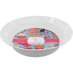 Dessert & Coffee Melamine Bowls (Personalized)