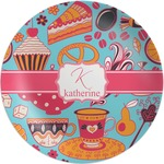 Dessert & Coffee Melamine Plate (Personalized)