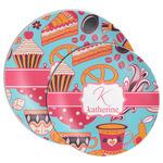 Dessert & Coffee Melamine Plate (Personalized)