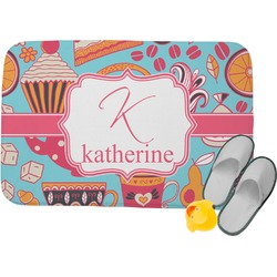 Dessert & Coffee Memory Foam Bath Mat (Personalized)