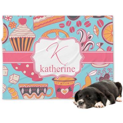 Dessert & Coffee Dog Blanket (Personalized)