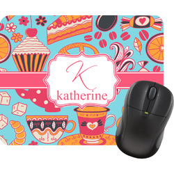 Dessert & Coffee Rectangular Mouse Pad (Personalized)