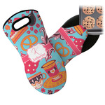 Dessert & Coffee Neoprene Oven Mitt (Personalized)