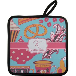 Dessert & Coffee Pot Holder (Personalized)