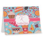Dessert & Coffee Note cards (Personalized)