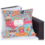 Dessert & Coffee Outdoor Pillow (Personalized)